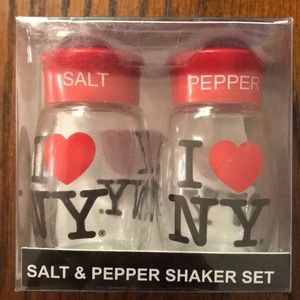 Other - I Love New York Salt and Pepper Shakers